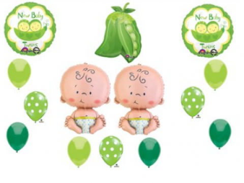 Theme Suggestions for a Twintastic Baby Shower