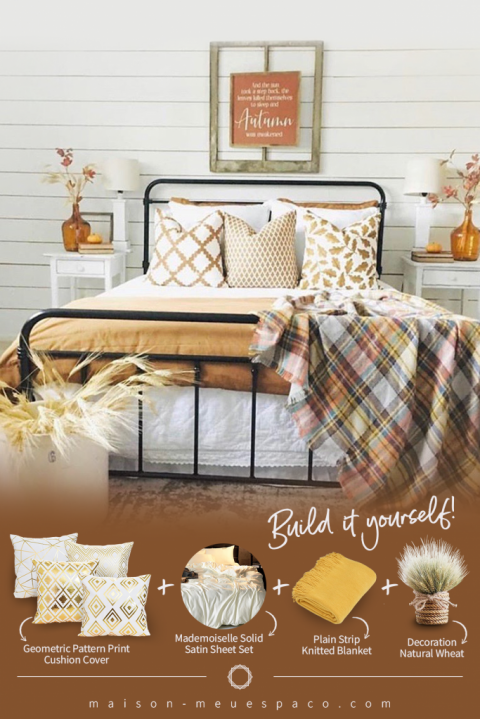 How to Style your Bedroom for a Cozy and Easy Fall Refresh!