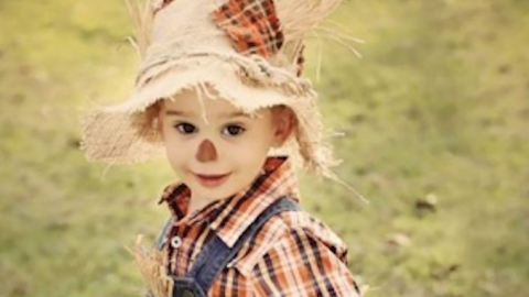 DIY Haberdashery Halloween Costumes for Kids