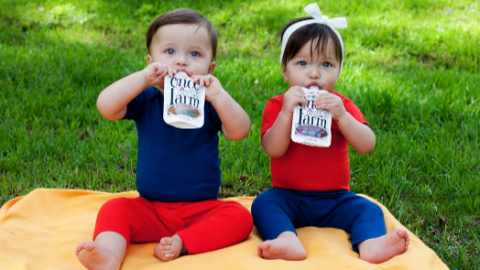 Baby Food- Organic Fresh and Cold-Pressed… Once Upon a Farm