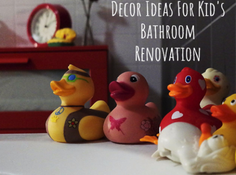 7 Things to Keep In Mind When Renovating Your Childs Bathroom