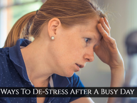 6 Ways to De-stress from Mommy-hood