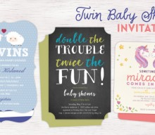 Baby Shower Invitations For Twins