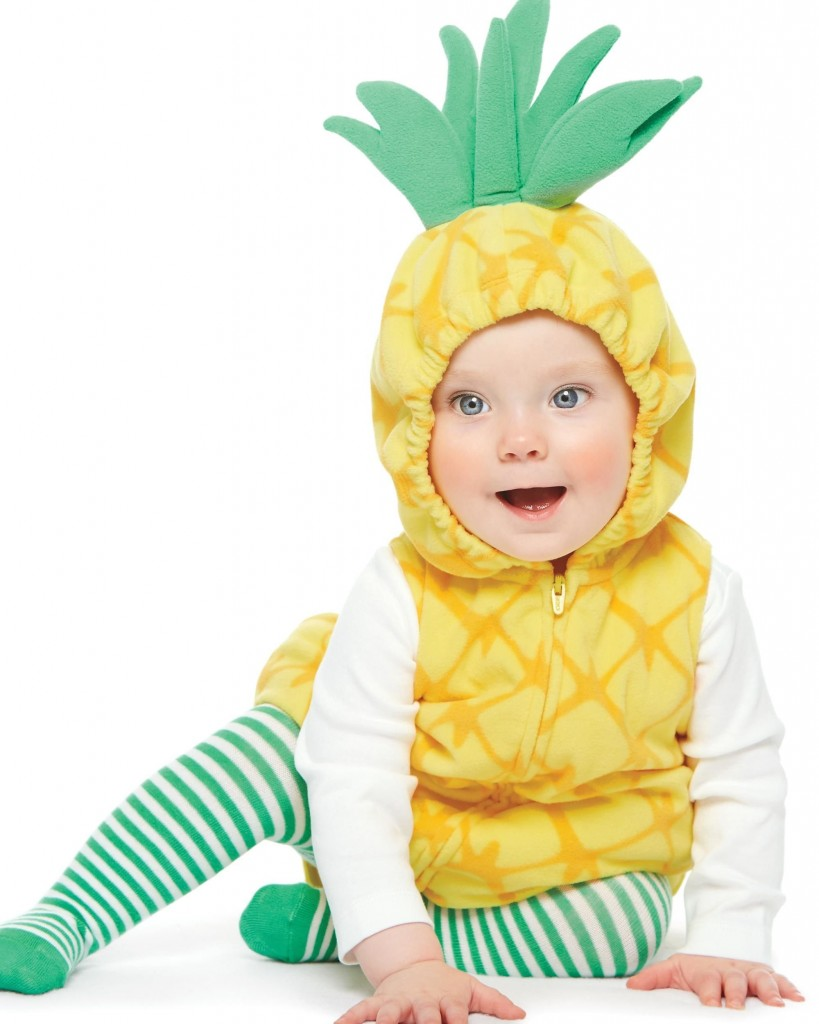 Carter's Halloween Costume Baby 2 Pieces - Pineapple