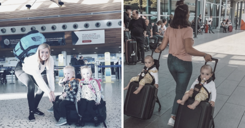 Top 10 Tips for Traveling with Twins