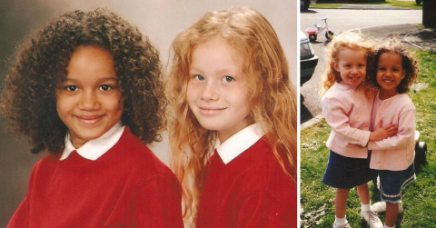 These biracial twins are turning heads